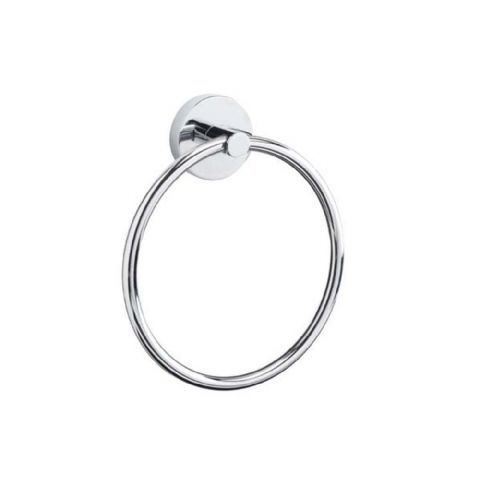 Croydex Romsey Flexi Fix Chrome Towel Ring